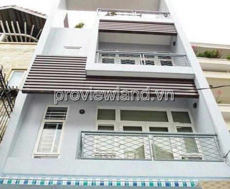 Bán nhà Quận 1 đường Nguyễn Đình Chiểu diện tích 6.5x20m 4 lầu