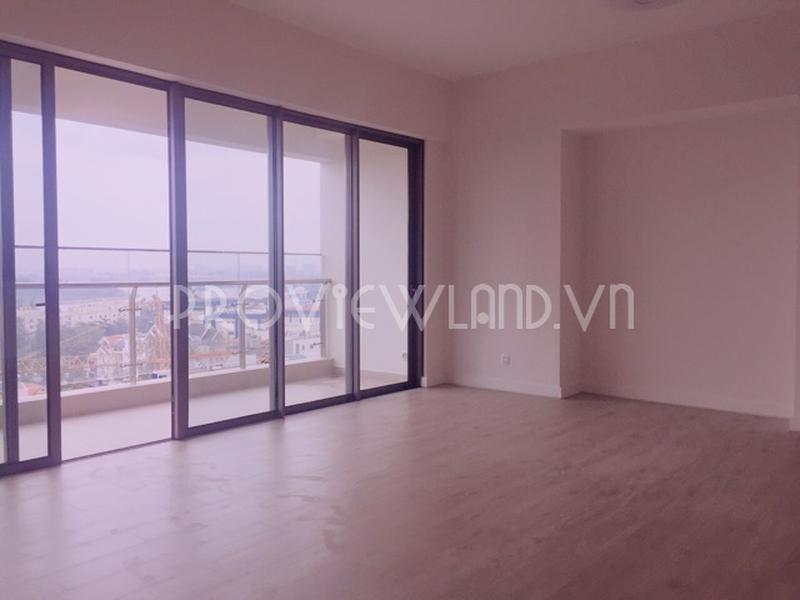 Cần bán căn hộ tầng cao view sông tại Gateway Thảo Điền gồm có 3 phòng ngủ