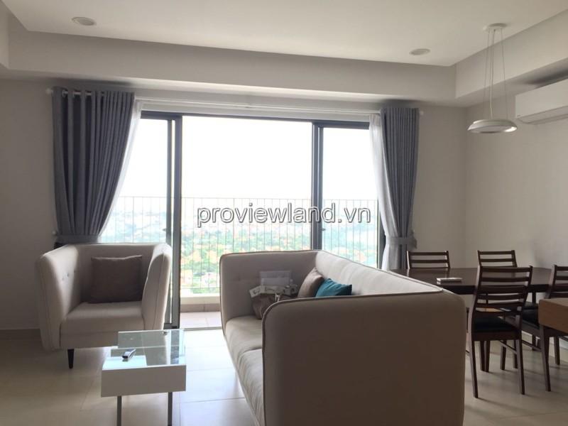 Masteri Thảo căn hộ cho thuê tầng cao view sông 3 phòng ngủ nội thất cực kỳ cao cấp