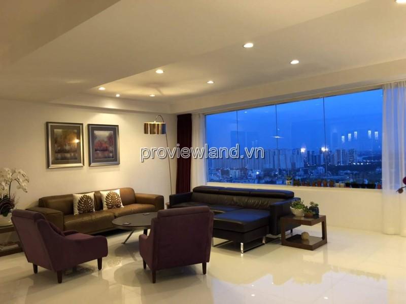 Bán căn hộ 4 phòng ngủ Saigon Pearl căn số 03 diện tích 206m2 full nội thất