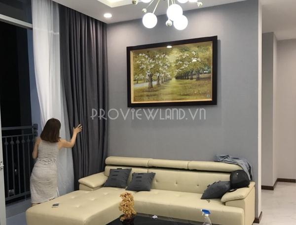 Căn hộ Penthouse view đẹp cho thuê tại Vinhomes Central Park đầy đủ tiện nghi