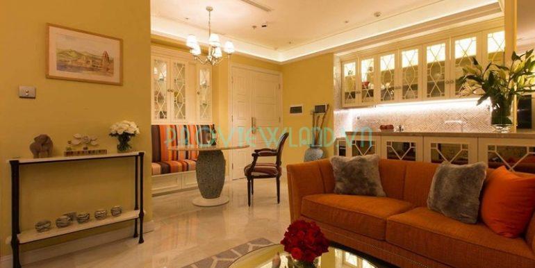Cho thuê căn hộ đẹp tại Vinhomes Golden River Ba Son với 2 phòng ngủ rộng