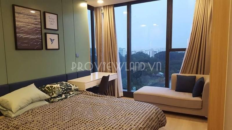 Căn hộ Vinhomes Golden River cho thuê với 3 phòng ngủ view đẹp thiết kế sang trọng