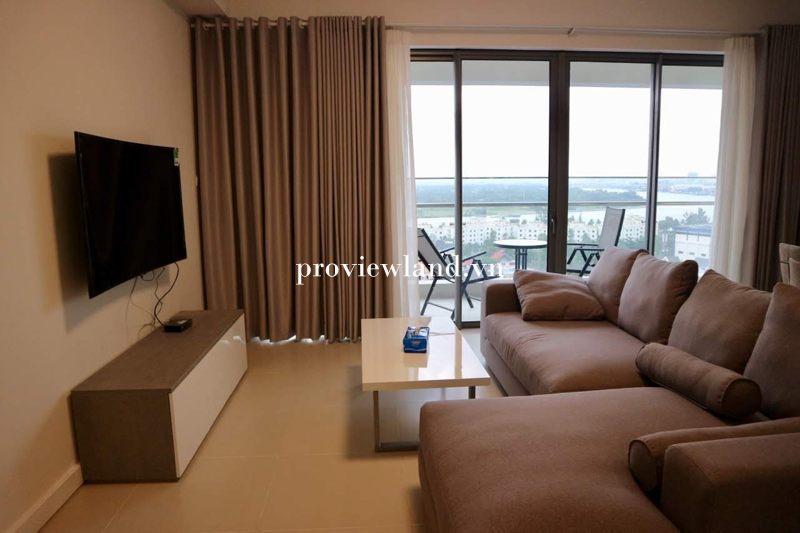 Cho thuê căn hộ Gateway Thảo Điền 3 phòng ngủ 121m2 full nội thất View sông