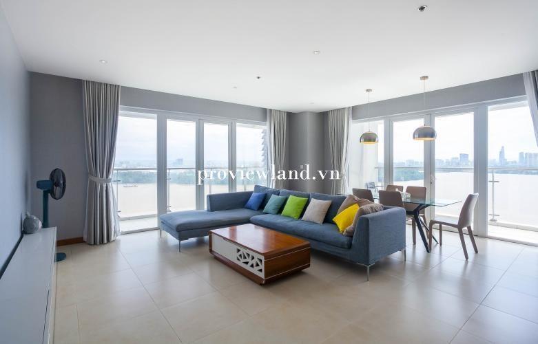 Bán căn hộ Đảo Kim Cương tại tháp T3 3 phòng ngủ full nội thất view sông