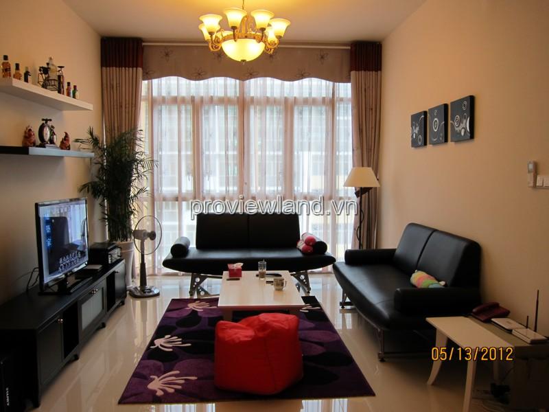 The Vista An Phú căn hộ bán gồm 2 phòng ngủ tầng cao Tháp T2 101m2