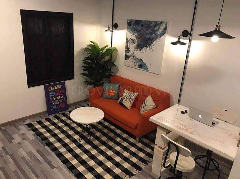 Căn hộ cho thuê tại chung cư Bùi Viện Quận 1 với 1 phòng ngủ đầy đủ tiện nghi