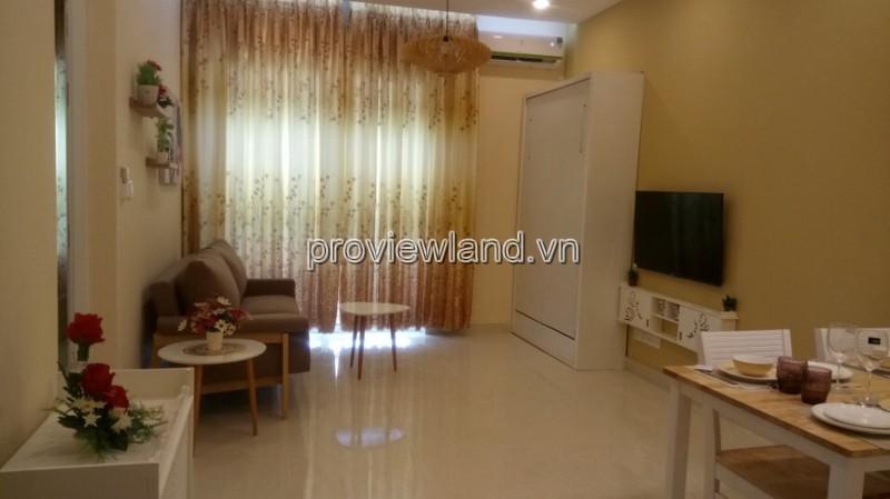 Bán căn hộ 1 phòng ngủ Vista Verde Quận 2 48m2 tầng thấp nội thất đầy đủ