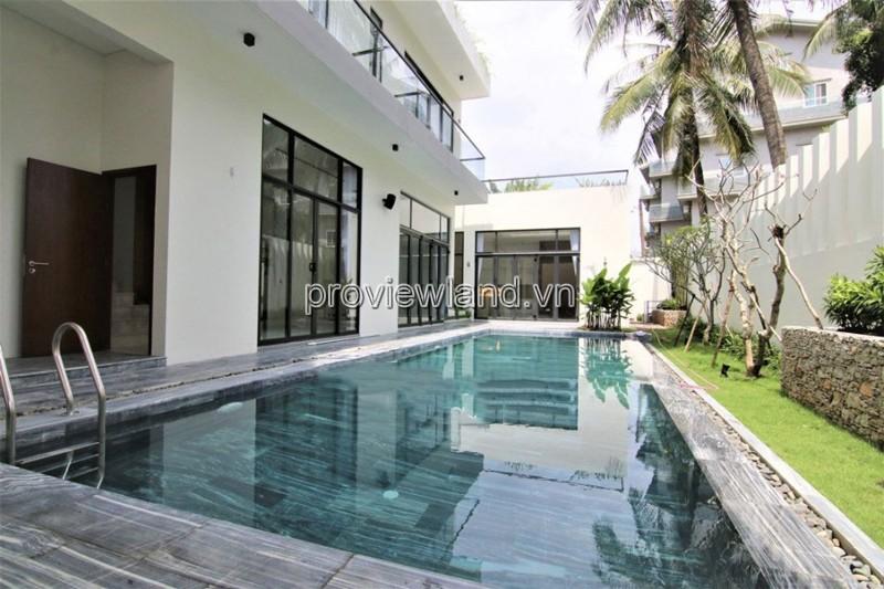Biệt thự cho thuê tuyệt đẹp tại Thảo Điền quận 2 517m2 5 phòng ngủ