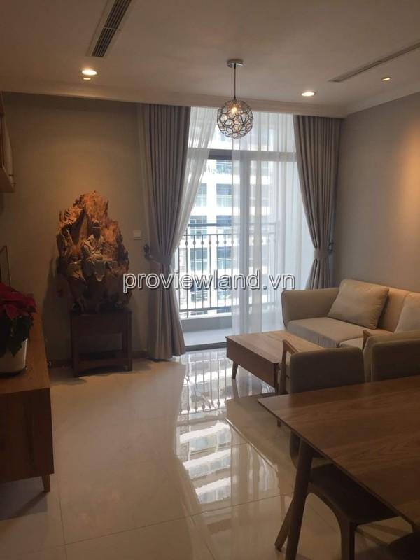 Cho thuê căn hộ cao cấp Vinhome Centarl Park 1 phòng ngủ 54.3m2 diện tích