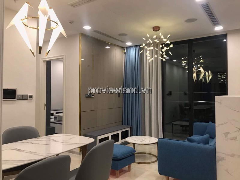 Vinhomes Golden River apartment for rent with 2 bedrooms nice view