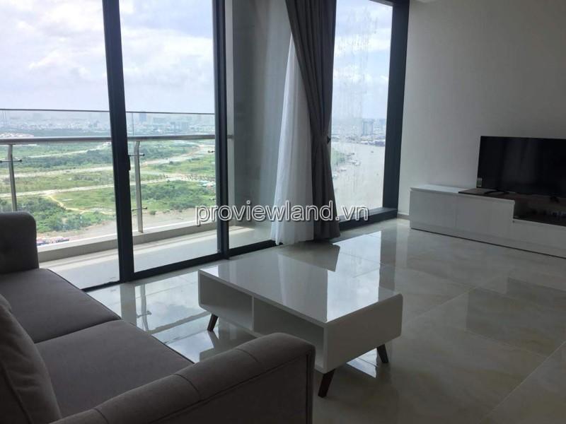Cho thuê căn hộ Quận 1 Vinhomes Golden River 3 phòng ngủ view sông