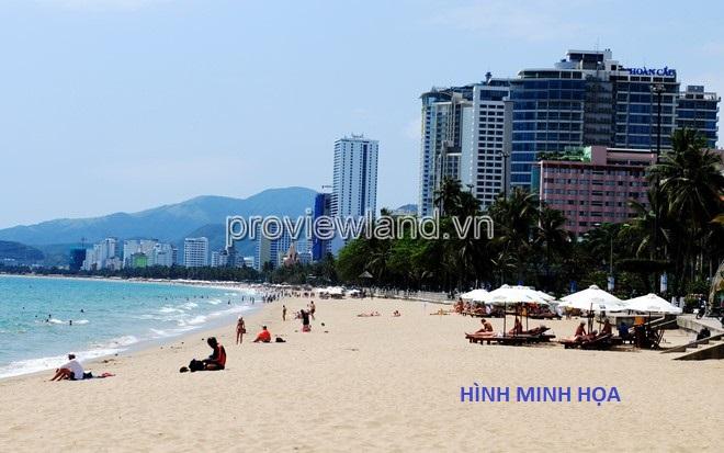 Bán khách sạn biển Nha Trang diện tích 8500m2 đã có sổ hồng 3 mặt tiền đường