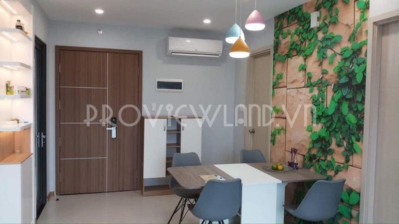 Căn hộ 2 phòng ngủ có thiết kế đẹp view sông cần cho thuê tại Newcity Thủ Thiêm