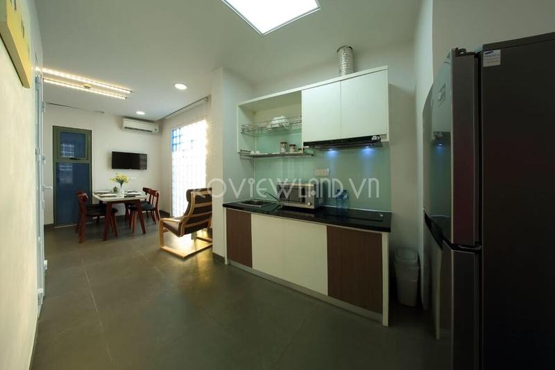 Căn hộ dịch vụ 2 phòng ngủ cần cho thuê tại Thảo Điền đầy đủ tiện nghi