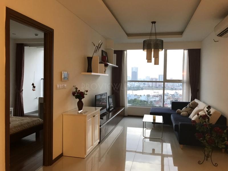 Cần cho thuê căn hộ view đẹp đầy đủ nội thất tại Thảo Điền Pearl với 2 phòng ngủ