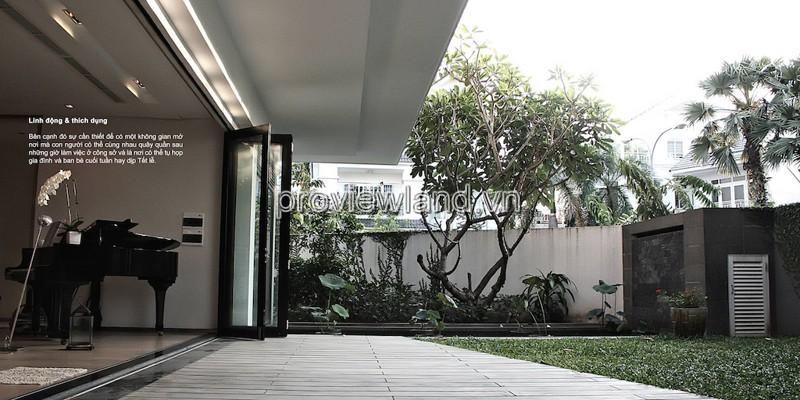 Bán biệt thự An Phu An Khanh Quận 2 1 hầm 1 trệt 2 lầu 288m2 có sân vườn