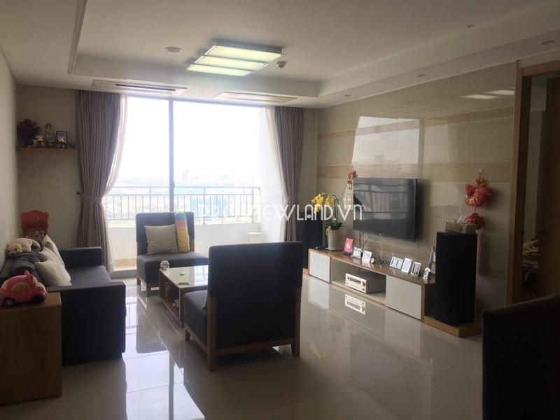 Căn hộ tầng cao tại Cantavil Premier cần bán 3 phòng ngủ có nội thất cao cấp