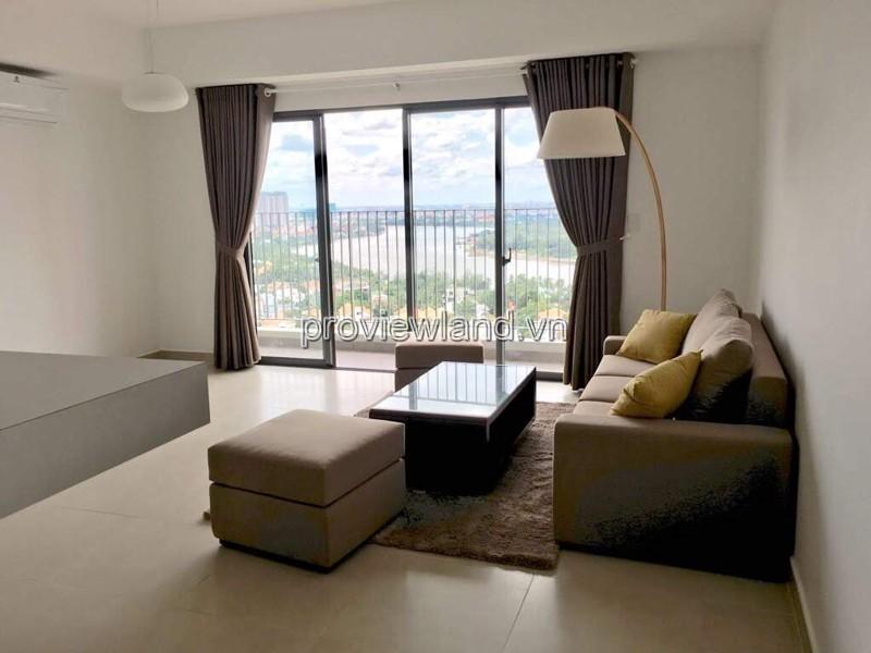 Masteri Thảo Điền Quận căn hộ 3 phòng ngủ 96m2 view sông cần cho thuê