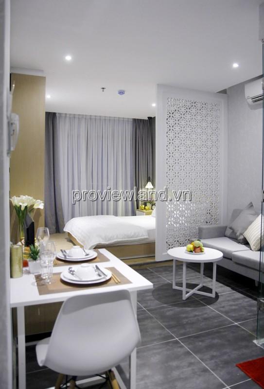 Cho thuê căn hộ dịch vụ Quận 1 Trần Quý Khoách 7 tầng 20 phòng 35-65m2