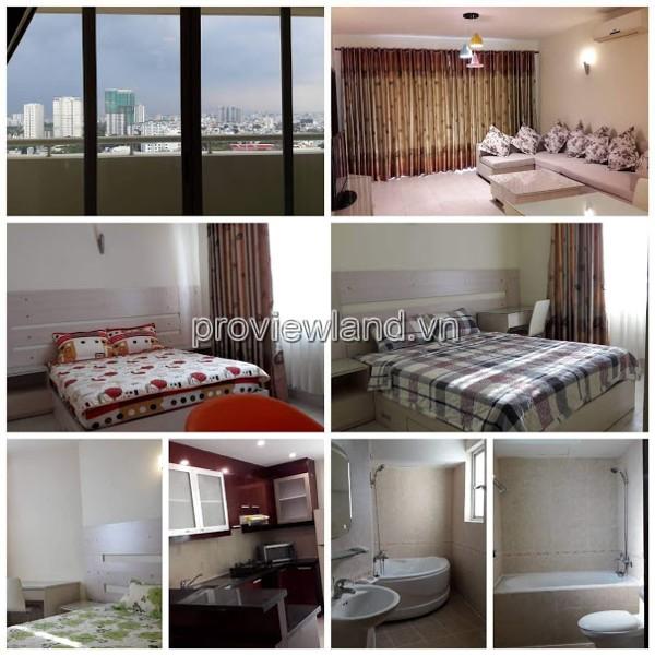 Căn hộ Hùng Vương Plaza Quận 5 132m2 3 phòng ngủ tầng cao đầy đủ nội thất