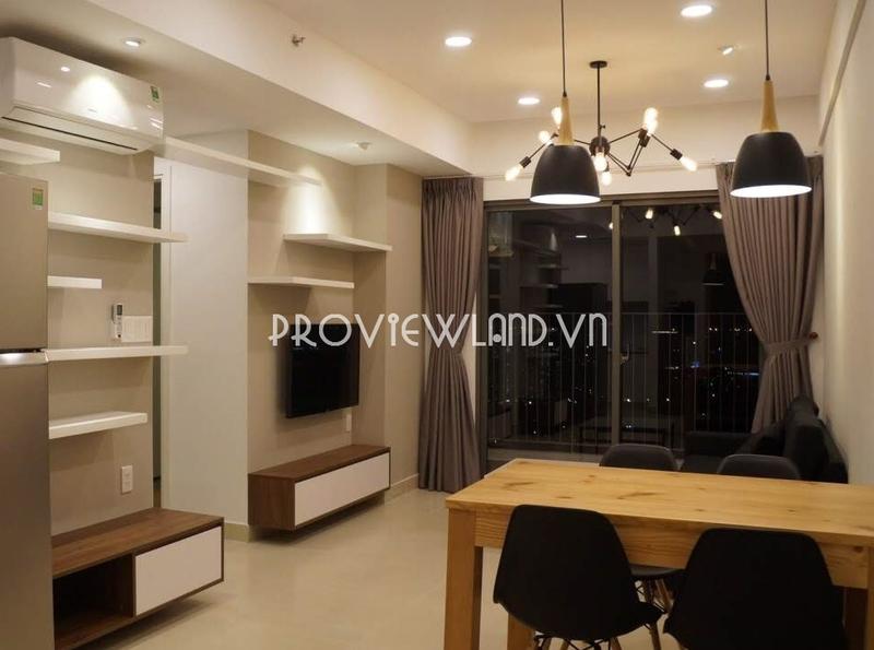 Masteri Thảo Điền căn hộ cho thuê 2 phòng ngủ tầng cao view đẹp