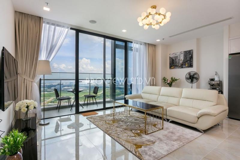 Căn hộ Vinhomes Ba Son tháp Aqua 2 cần cho thuê 4 phòng ngủ view đẹp