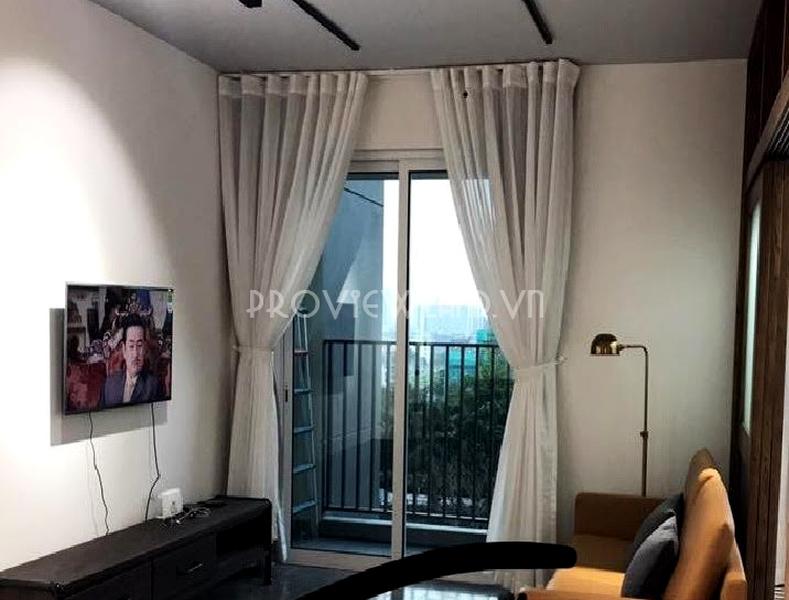 Căn hộ cho thuê 1 phòng ngủ kiến trúc cổ điển tại Vista Verde đầy đủ nội thất