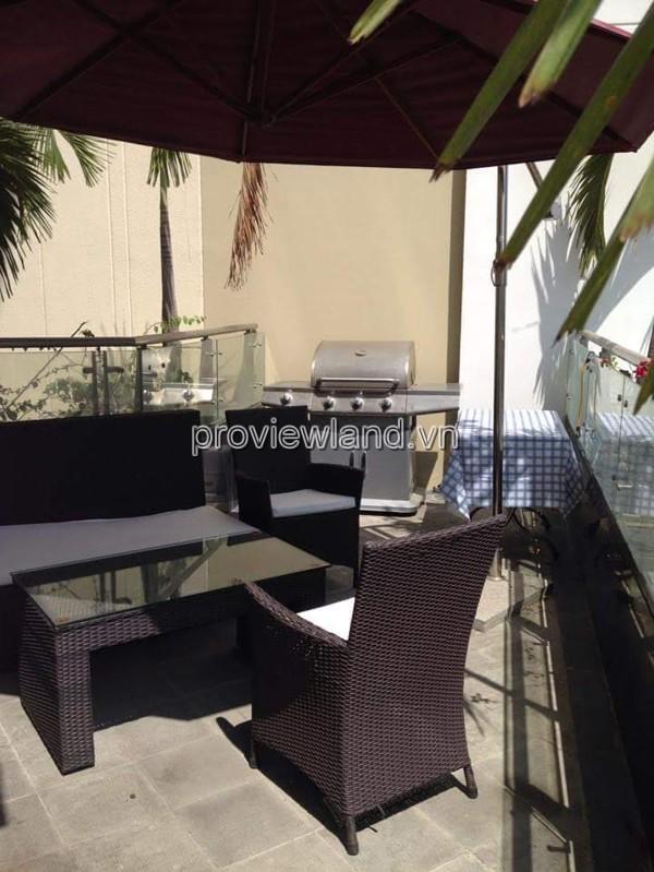 Căn hộ Estella An Phú Quận 2 cho thuê với 3 phòng ngủ nội thất sang trọng tầng thấp