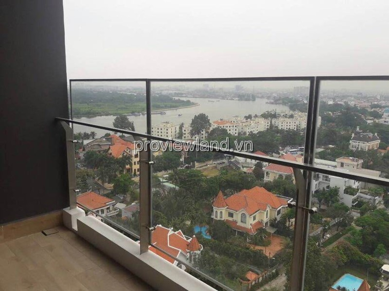 Căn hộ Nassim Thảo Điền bán có diện tích 86m2 2 phòng ngủ view sông
