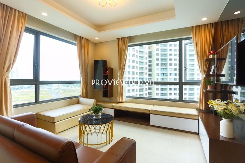 Cho thuê căn hộ 2 phòng ngủ nội thất cao cấp view đẹp tại tháp Hawaii Đảo Kim Cương