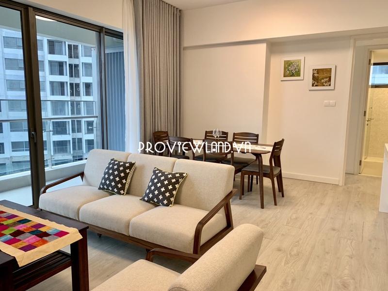 Căn hộ cho thuê 2 phòng ngủ tại Gateway Thảo Điền tháp Aspen view đẹp