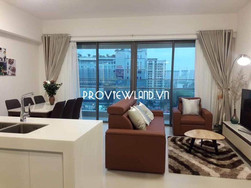 Căn hộ cho thuê Gateway Thảo Điền đầy đủ nội thất với 2 phòng ngủ