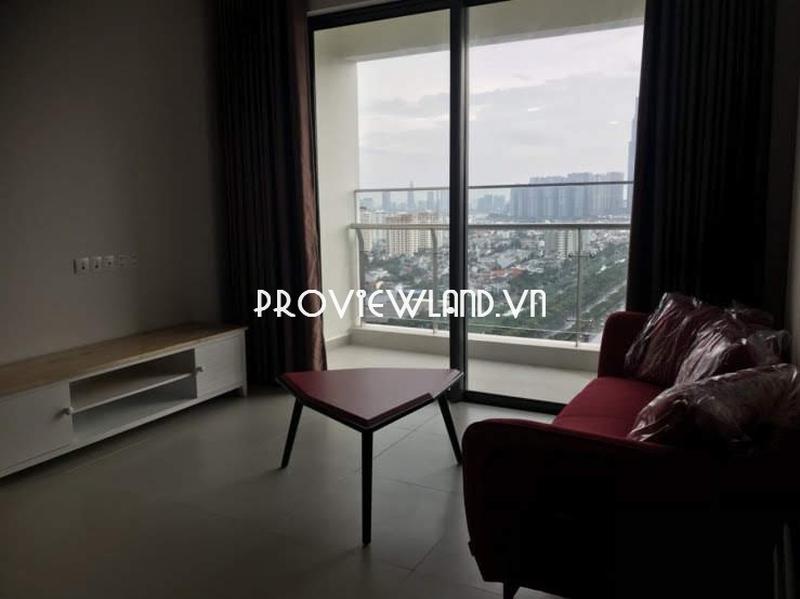 Gateway Thảo Điền cho thuê căn hộ tầng cao 2 phòng ngủ tháp Madison
