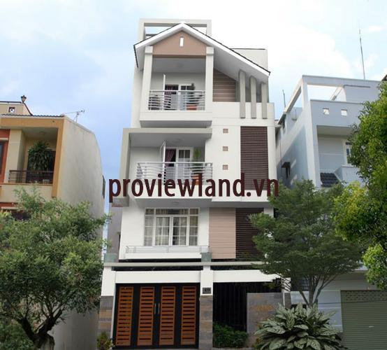 Bán nhà phố Nguyễn Đình Chiểu Quận 3 nhà đẹp 13m2x27m2 1 trệt 2 lầu