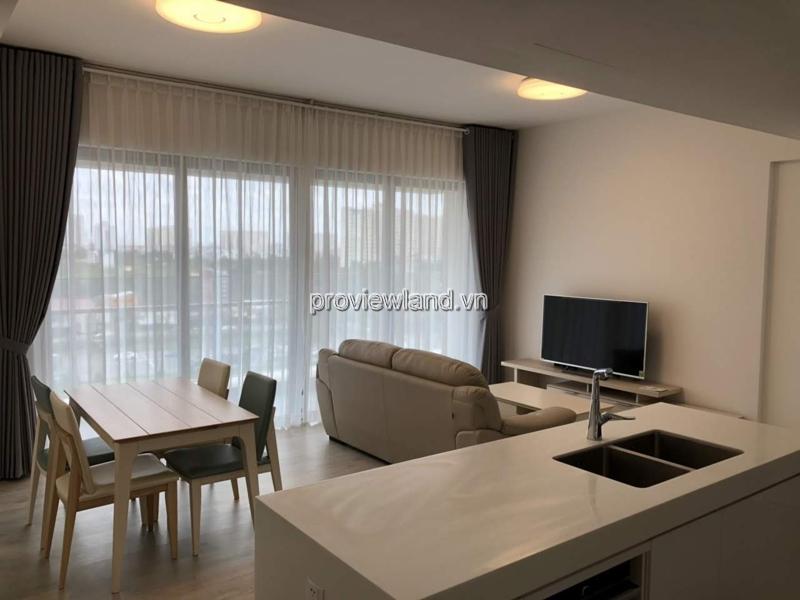 Cho thuê căn hộ mới tại Gateway Thảo Điền 90.8m2 2 phòng ngủ tầng thấp