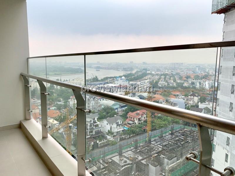 Bán căn hộ 2 phòng ngủ có view sông tại Gateway Thảo Điền với 90m2 diện tích