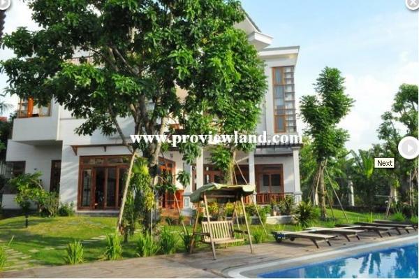 Bán Biệt thự đẹp 1600 m2 mặt tiền sông Phường Thảo Điền Quận 2