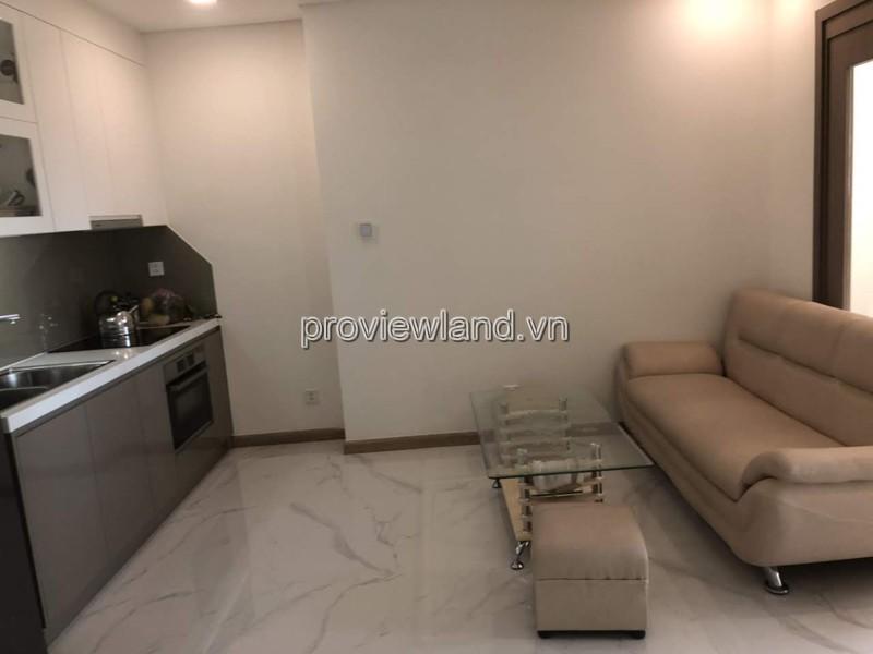 Cho thuê căn hộ Landmark 81 tại Vinhomes Bình Thạnh 55m2 1PN