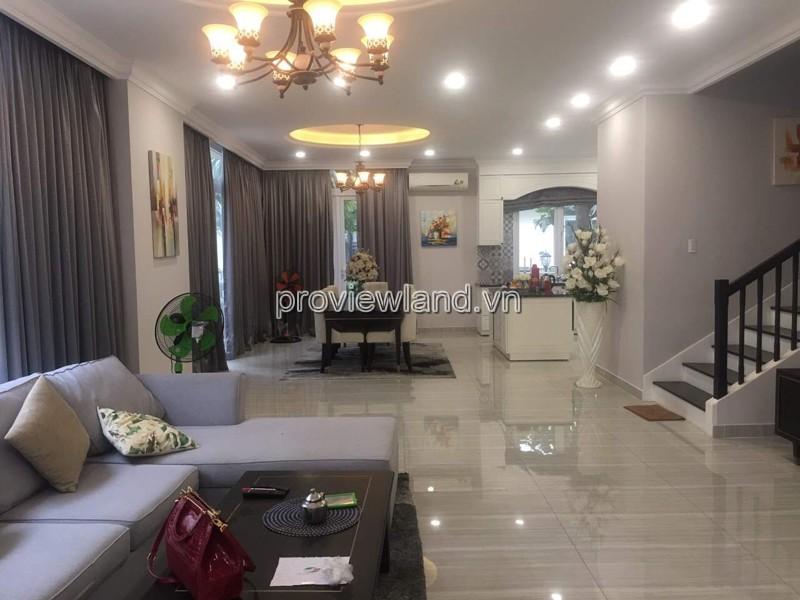 Cho thuê biệt thự Veronica Khang Điền Quận 9 4 phòng ngủ đầy đủ nội thất