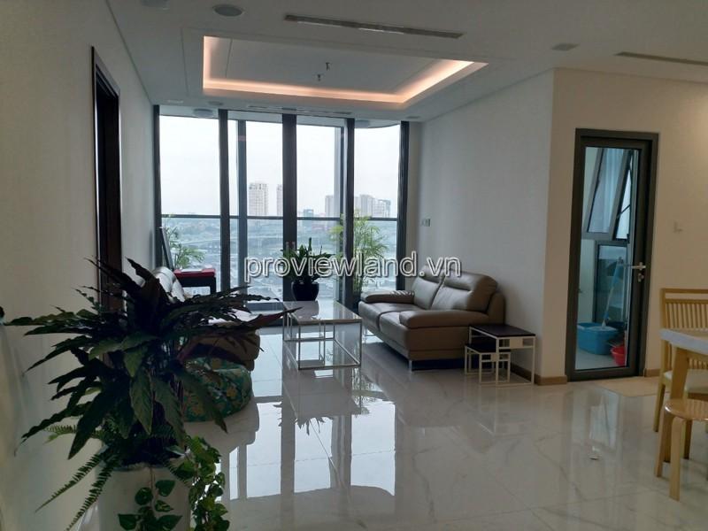Cần cho thuê căn hộ 4PN tòa Lamdmak 81 view sông dự Vinhomes Tâng Cảng