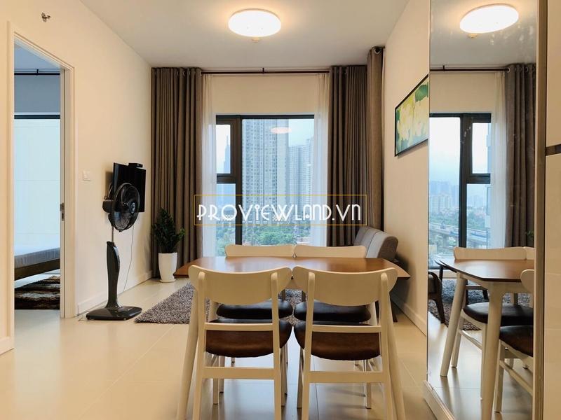 Căn hộ 1 phòng ngủ tại Gateway Thảo Điền cho thuê nội thất sang trọng