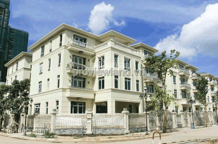 Bán căn biệt thự Vinhomes Ba Son bờ sông ở Quận 1 437.5m2 1 hầm+1 trệt+3 tầng