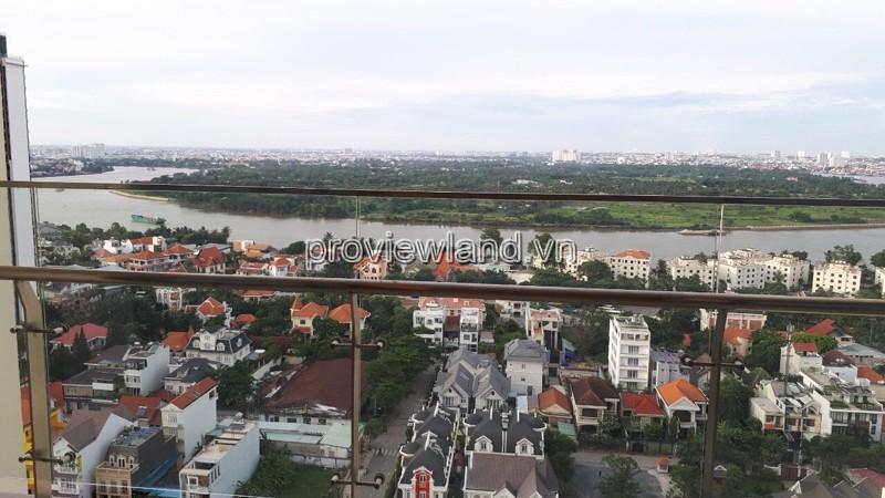 Cần tiền bán nhanh căn hộ 2 phòng ngủ Gateway Thảo Điền 89m2 tầng cao view sông