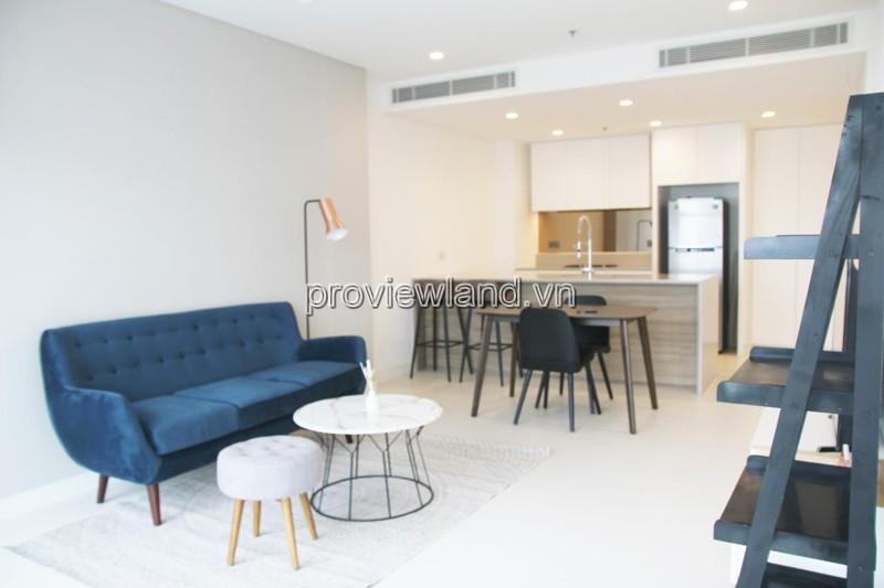 Cho thuê căn hộ City Garden tháp C 1 phòng ngủ đầy đủ nội thất