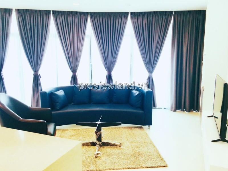 Cho thuê căn hộ City Garden tại Block C tầng 15 gồm 2 phòng ngủ