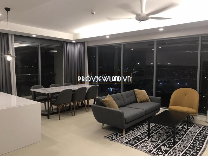 Diamond Island căn hộ tháp Bora Bora cho thuê 3 phòng ngủ tầng cao