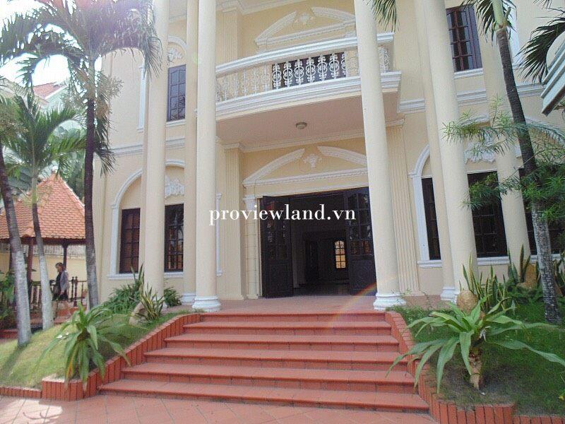Biệt thự Thảo Điền bán có diện tích 647m2 1 trệt 1 lầu có hồ bơi riêng