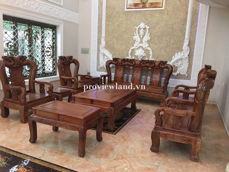 Cho thuê Villa có diện tích 640m2 nội thất cực đẹp có hồ bơi tại Phường An Phú Q.2