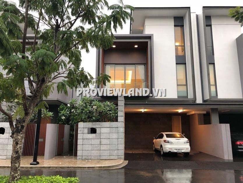 Villa for rent in Holm Villa Thao Dien 1 ground floor 2 floors area 395m2 4 bedrooms